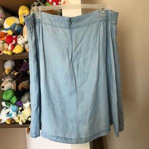 2c2dd7b9fb0 torrid Skirts - 🔸ON HOLD🔸 Torrid Denim Lace Up Mini Skirt